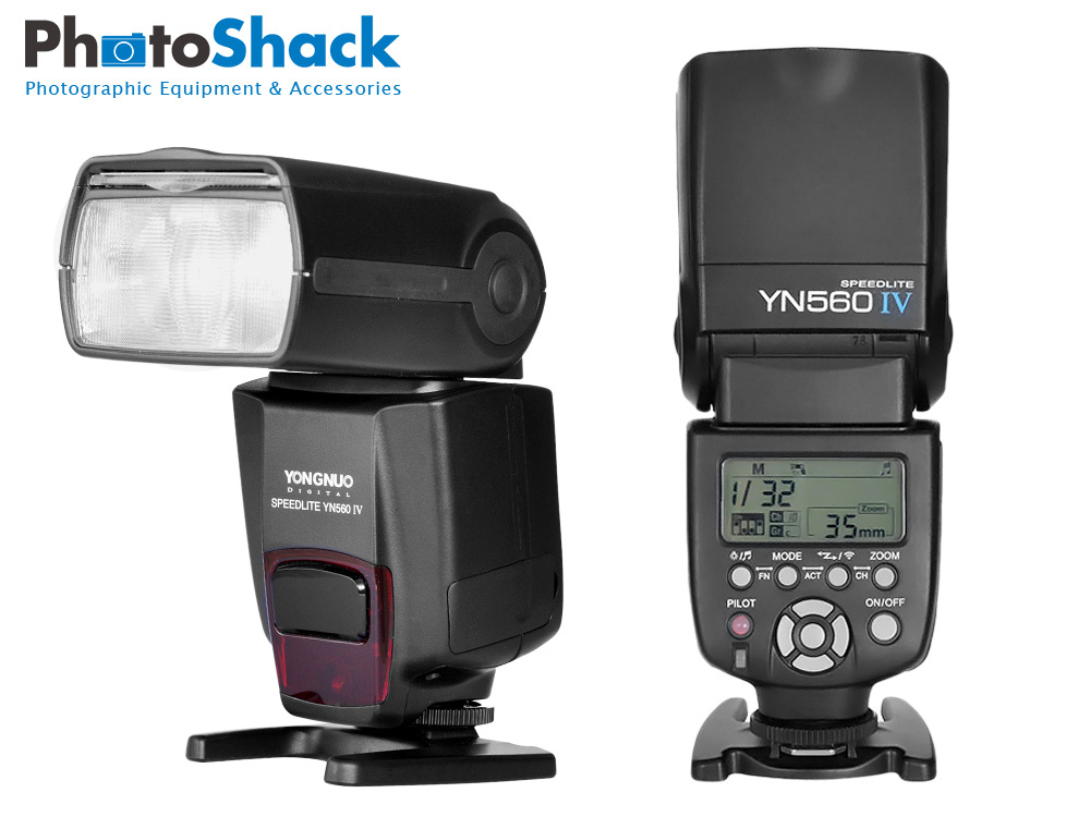 Yongnuo YN-560IV Wireless master flash. Supports 2.4G wireless. Manual