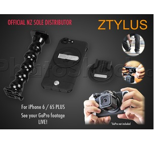 Ztylus GoPro Mount Kit for iPhone 6 / 6s Plus