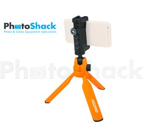 Mini Tripod Kit for Smartphones - Orange