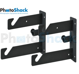 Background Roll Bracket - Double Hook