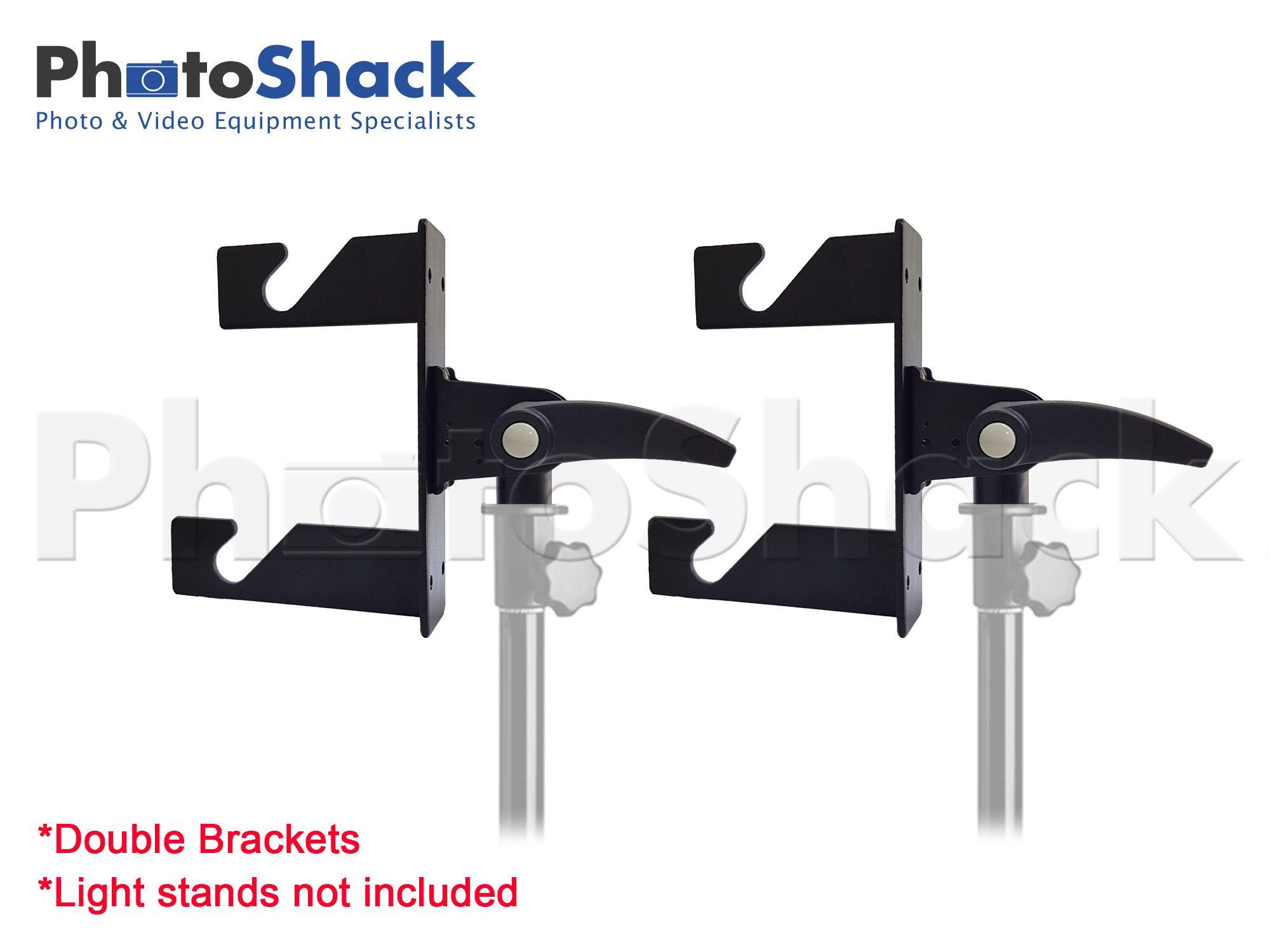 Background Roller Support System - Double bracket (holds 2)