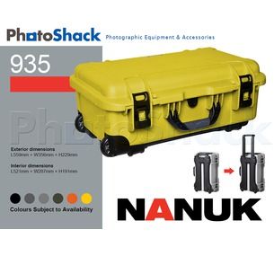 Nanuk 935 Protective Equipment Roller Case