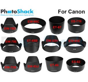 Lens Hoods for CANON lenses