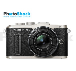 Olympus PEN E-PL8 Mirrorless Micro Four Thirds Digital Camera - Single Lens Kit (Black)