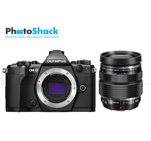 Olympus OM-D E-M5 Mark II Pro Kit with 12-40mm f/2.8 Lens (Black)