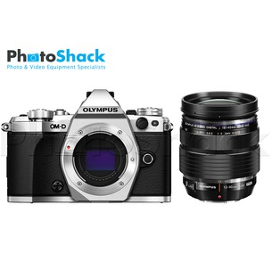Olympus OM-D E-M5 Mark II Pro Kit with 12-40mm f/2.8 Lens (Silver)