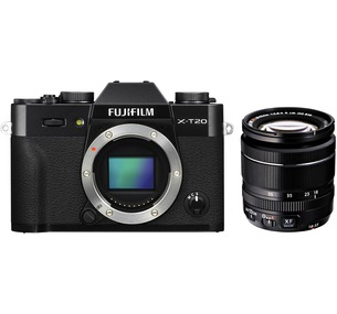 Fujifilm X-T20 + 18-55mm f2.8-4 Kit