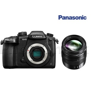 Panasonic LUMIX DC-GH5 Camera & LUMIX G X VARIO 12-35mm, F2.8 II Lens Kit