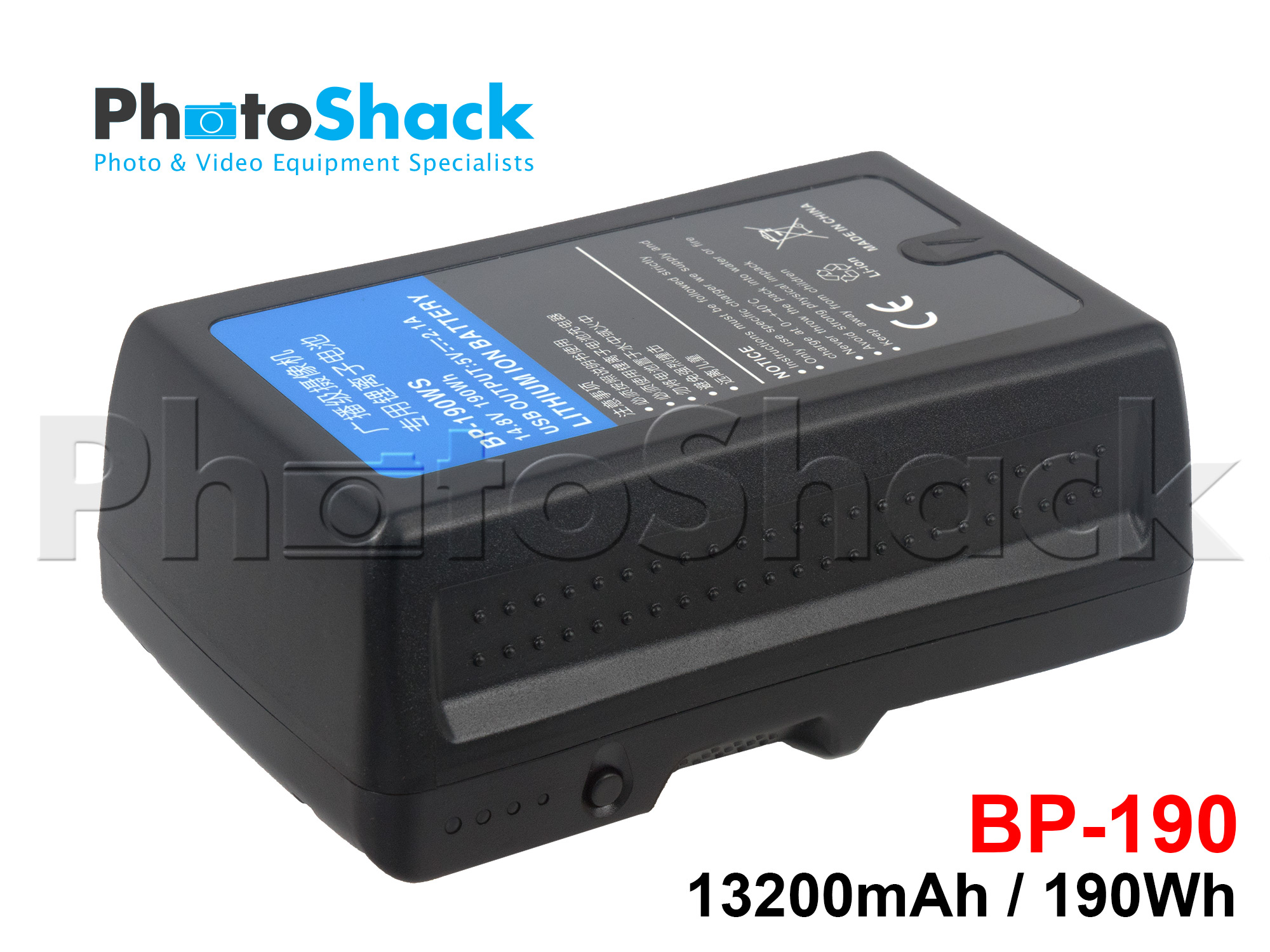 V-lock Battery - 13200mAh 190Wh - BP-190