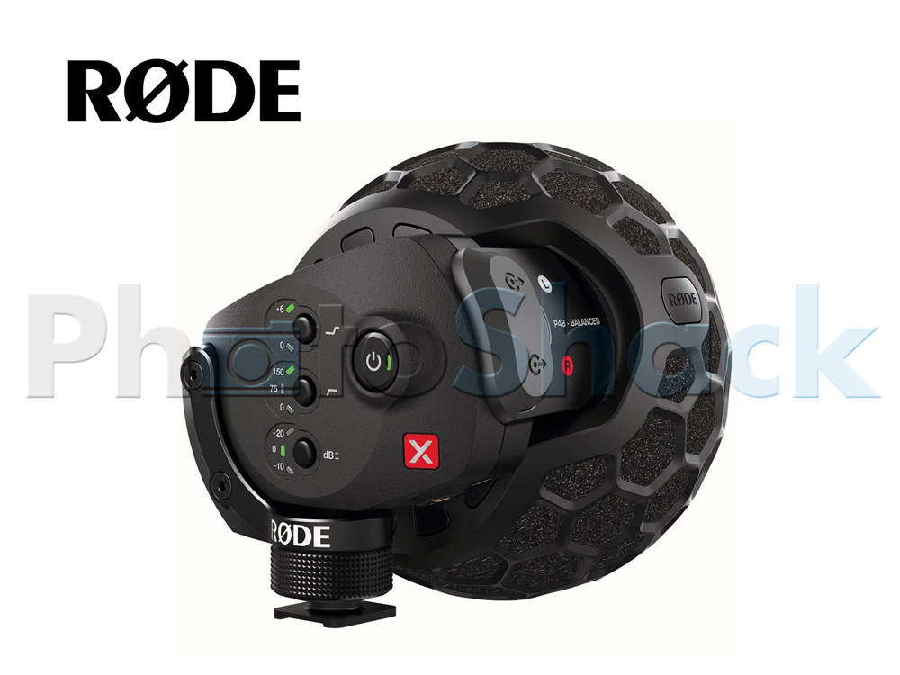 Rode SVMX Stereo VideoMic X On-Camera Stereo Microphone