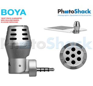 Boya mini microphone for iPhone or iPad (iOS devices)