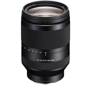 Sony Alpha SEL24240 FE 24-240mm F3.5-6.3 OSS E Mount Lens