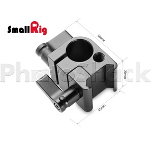 SmallRig SWAT Nato Rail with 15mm Rod Clamp (Parallel) - 1254