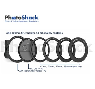 Athabasca 100mm Premium Filter Kit
