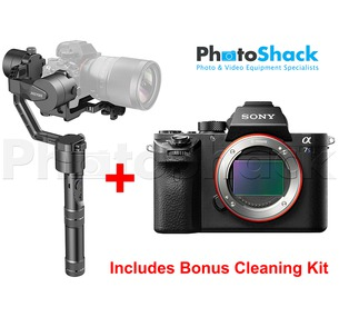 Sony a7S II & Zhiyun Crane v2 Bundle - Bonus Cleaning Kit