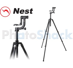 Nest Gimbal Head Tripod Kit w/ Elevator Column