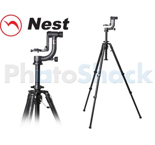 Nest Gimbal Head Tripod Kit w/ Geared Column