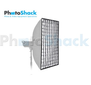Softbox 80x120cm with Grid (Heat resistant) - Bowens
