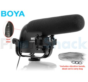 Boya Camera Mounted Shotgun Microphone