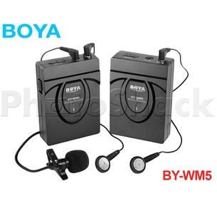 Wireless Microphone - Lavalier - Boya BYWM5