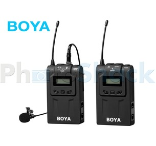 Boya BY-WM6 Professional UHF wireless microphone system