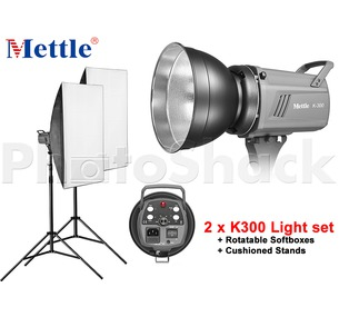 Studio Light Set - 600W (2xK300)