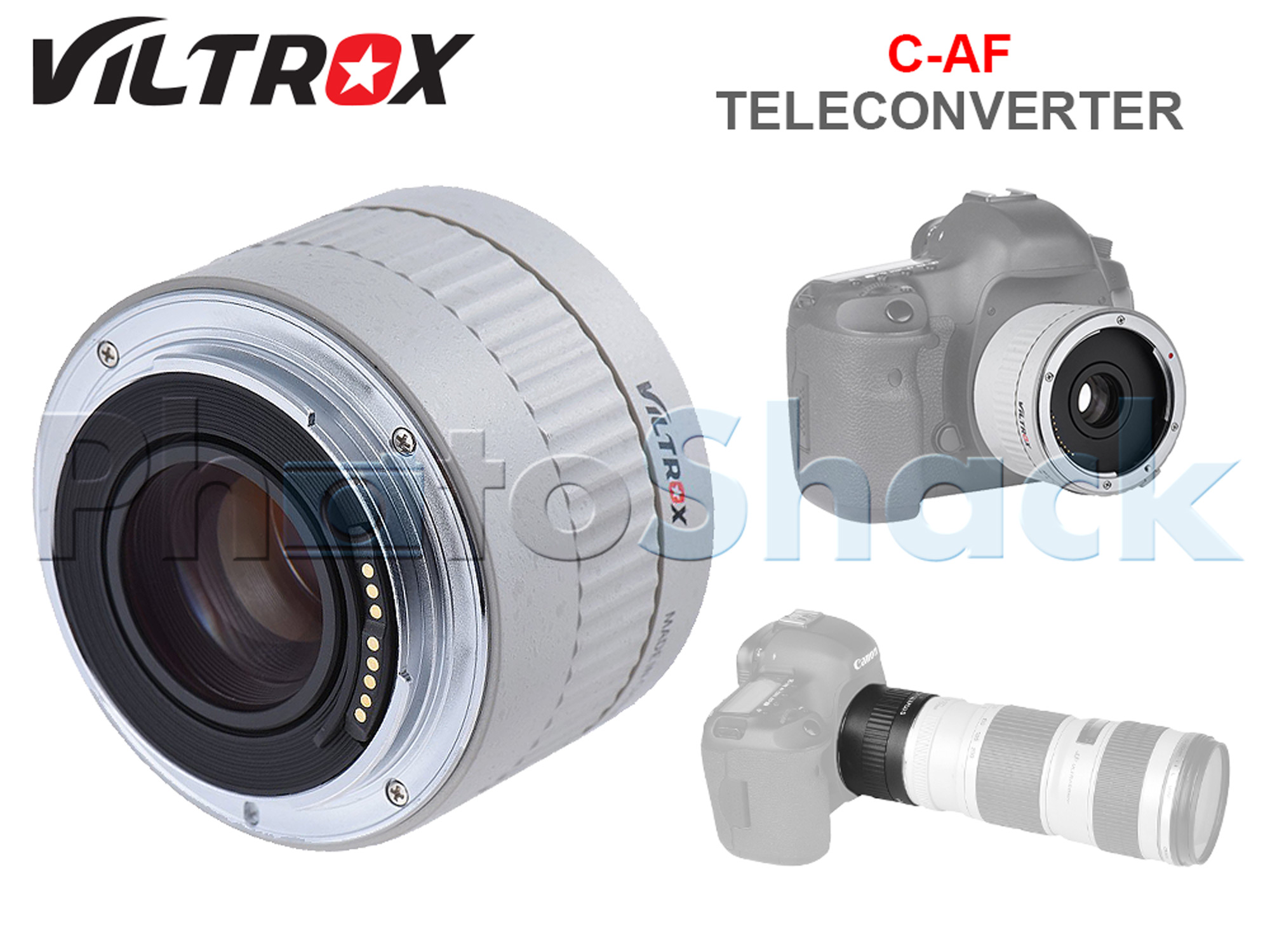 Viltrox Automatic Teleconverter 2x for Canon (White)