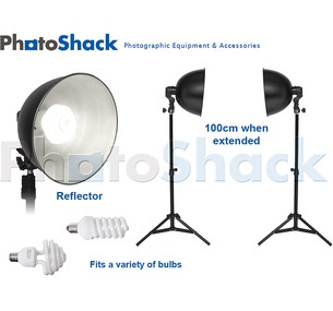 Continuous Lighting Set (85W) with Reflectors