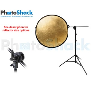 Reflector + Reflector Holder + Stand