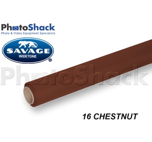 SAVAGE Paper Background Roll - 16 Chestnut