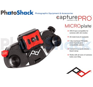 Peak Design CapturePRO Camera Clip with MICROplate