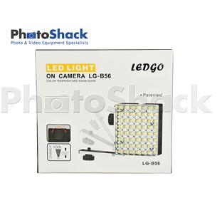 LEDGO On-Camera LED Light with Filter Set