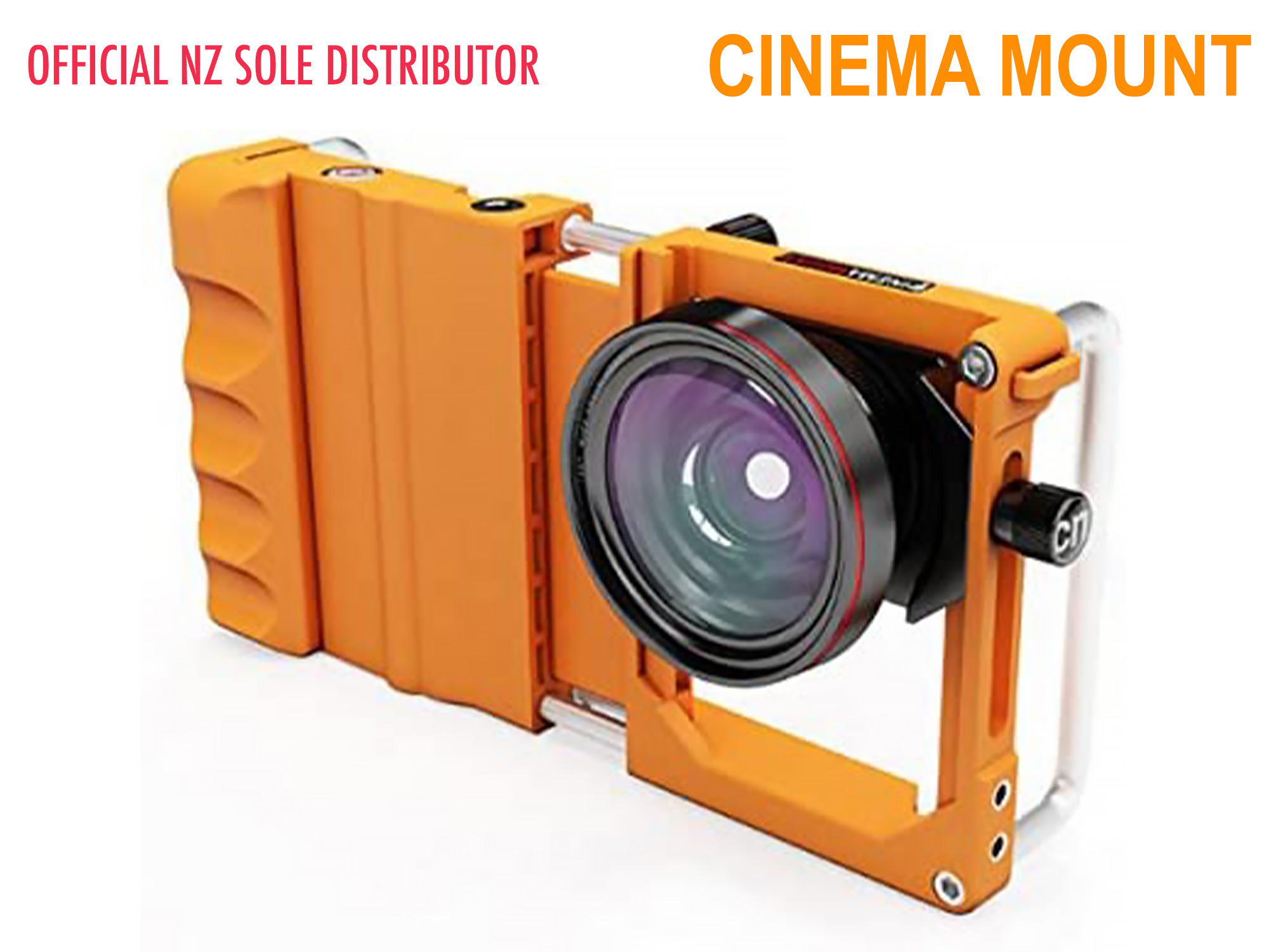 Cinema Mount for Smart Devices - Orange