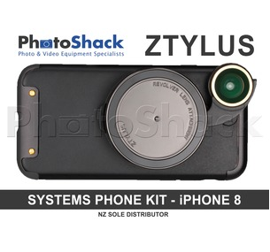 Ztylus Revolver Lens Camera Kit for iPhone 8 - Gunmetal