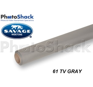 SAVAGE Paper Background Roll - 61 TV Gray