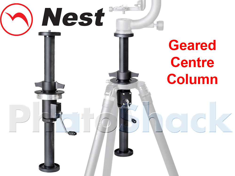 Systematic Tripod - Nest Geared Centre Column - ø28 Aluminium