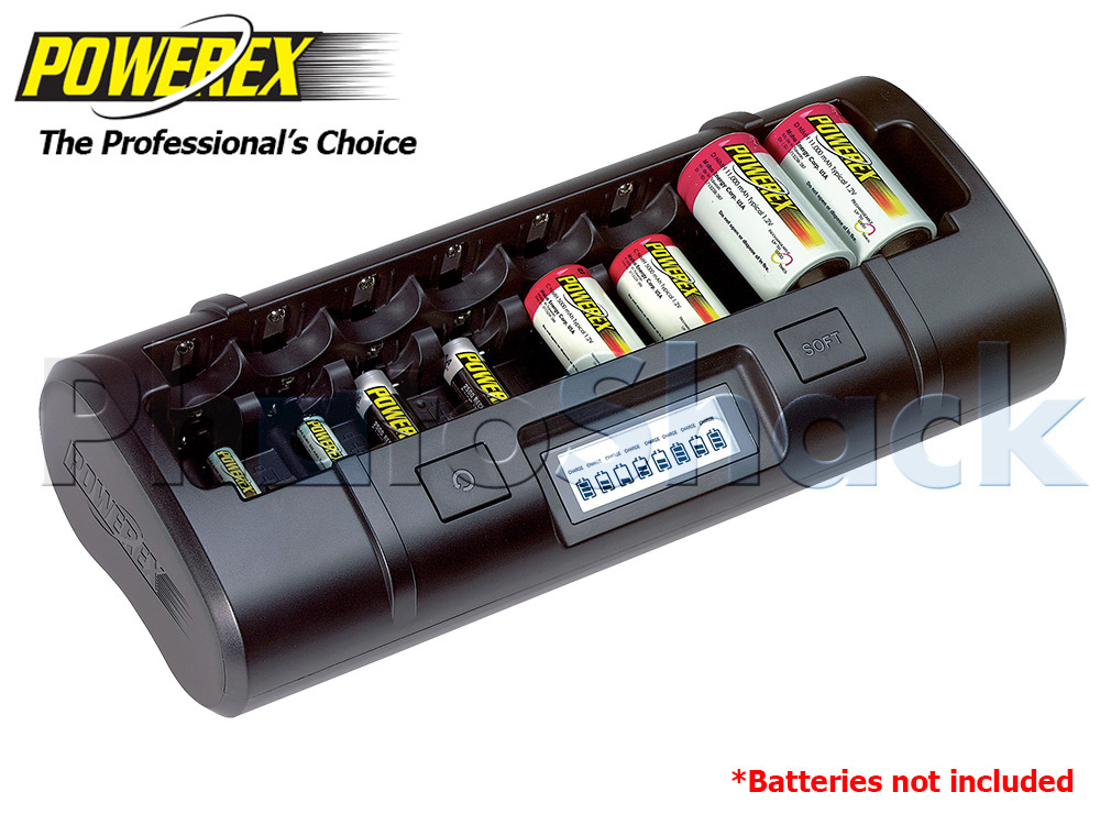 Maha Powerex Pro 8 Cell Charger - MH-C808M-A