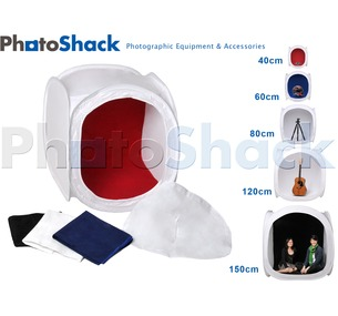 Light cube tent with 4 backgrounds 40cm