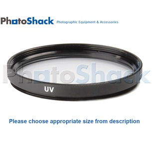 UV Filter (Ultra Violet) - 62mm
