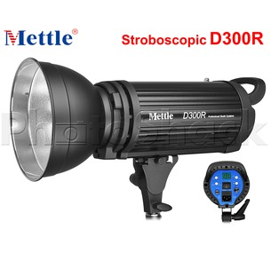 Studio Flash - 300W - Stroboscopic - Mettle D300R
