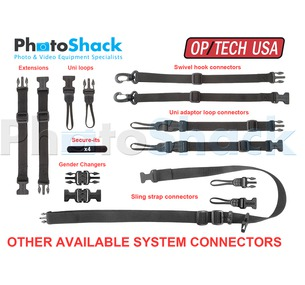 System Connectors - OP/TECH USA - Mini QD Loops 1mm (2 pairs)