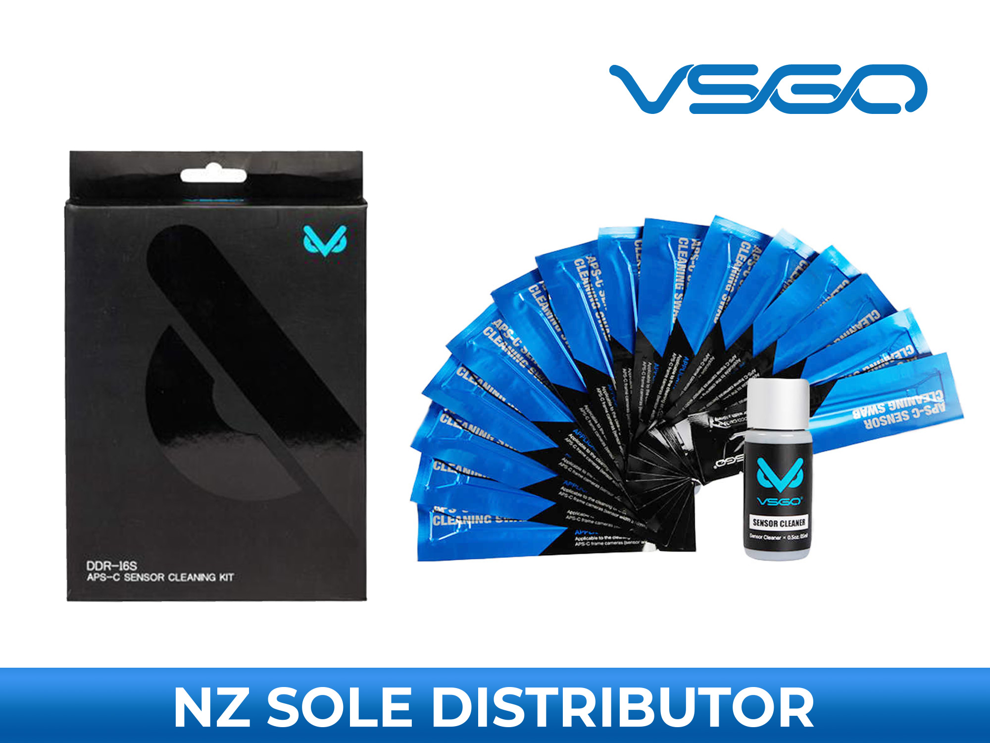 Sensor Cleaning Swab Kit - APS-C - VSGO DDR-16s