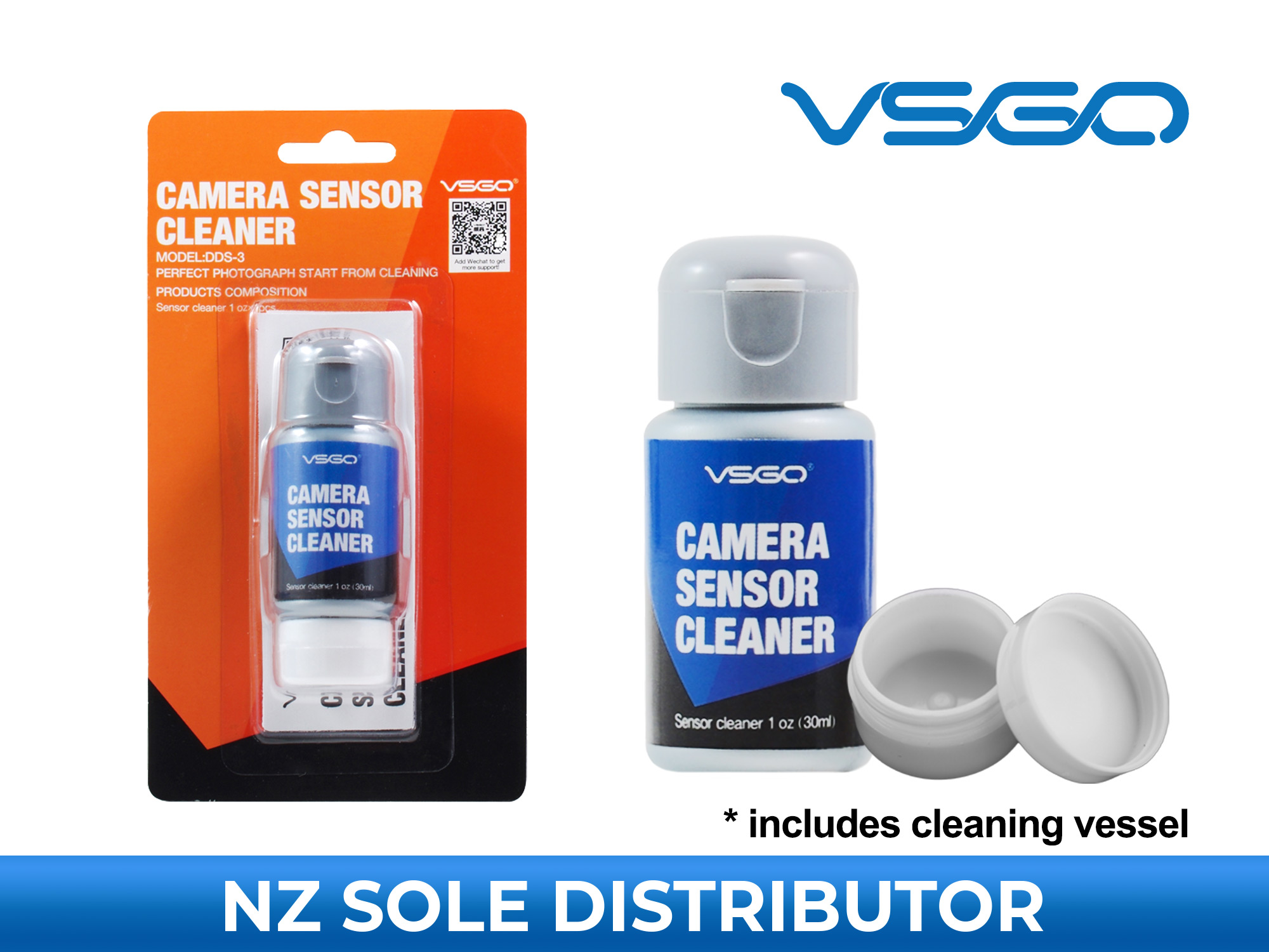 Camera Sensor Cleaning Solution - VSGO