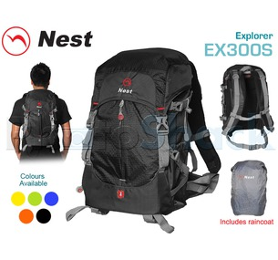 Camera Backpack - Outdoor - NEST EXPLORER - Ex300SBlue
