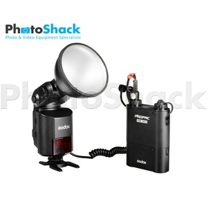 Godox AD360II-C High Power Speedlite and Battery Kit for Canon