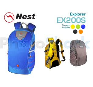 Camera Backpack - NEST EXPLORER - Ex200SBlue