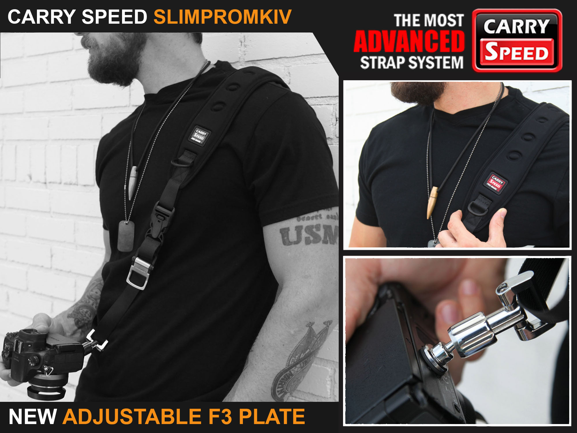 Carry Speed Slim Pro MKIV Strap