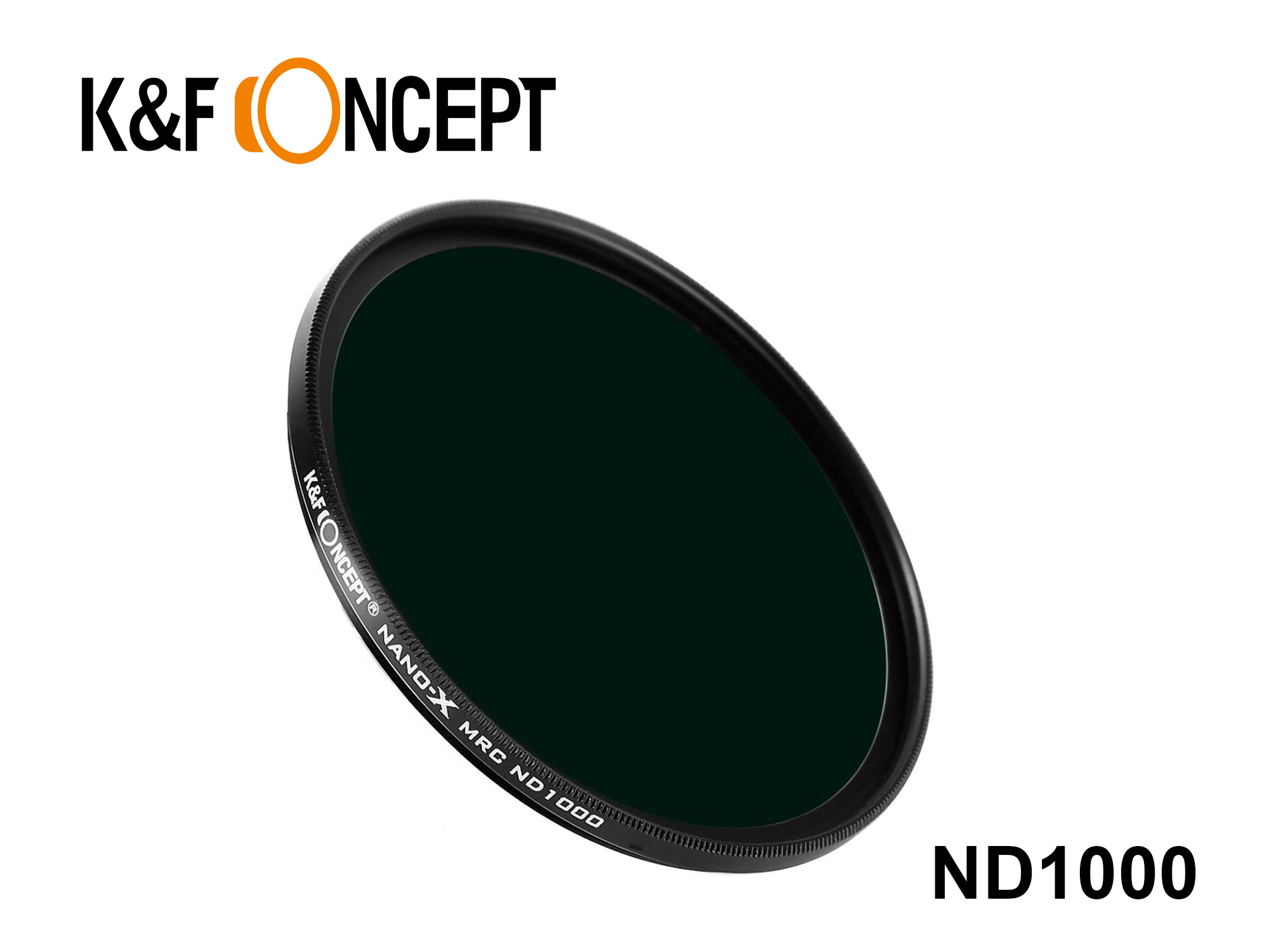 KND1000-52 -Neutral Density ND1000 Filter - Nano-X 52mm