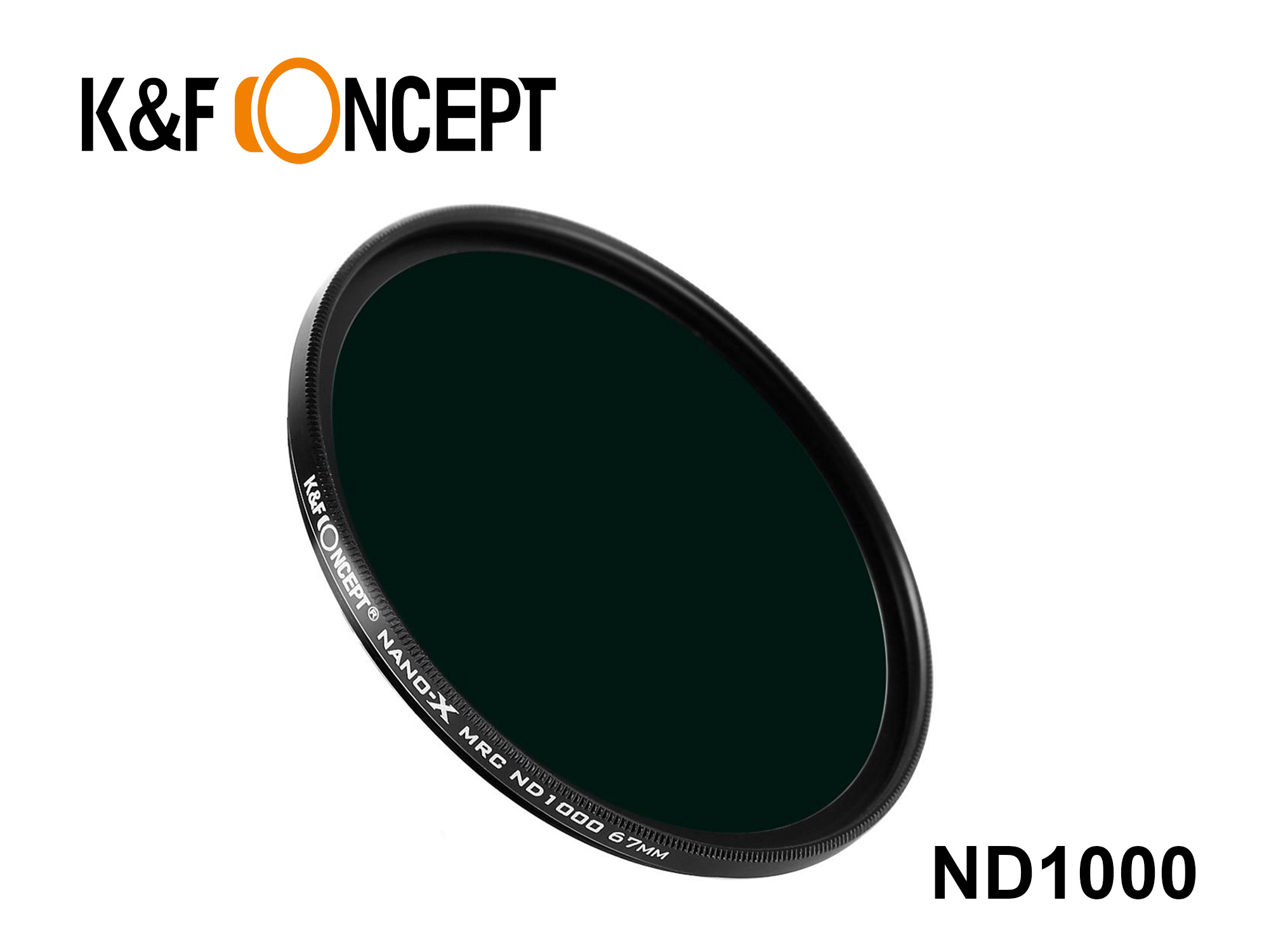 KND1000-67 - Neutral Density ND1000 Filter - Nano-X 67mm