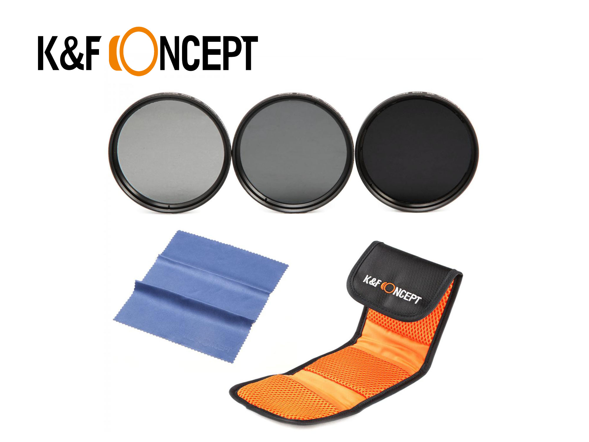 KNDSet58 - 58mm Filter Set - K&F Concept